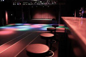 Saal des Lindenparks - Blick auf die Bühne