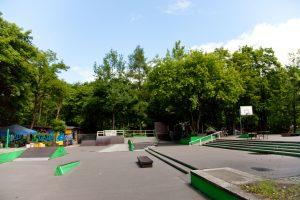 BMX- und Skate-Areal vor dem j.w.d.