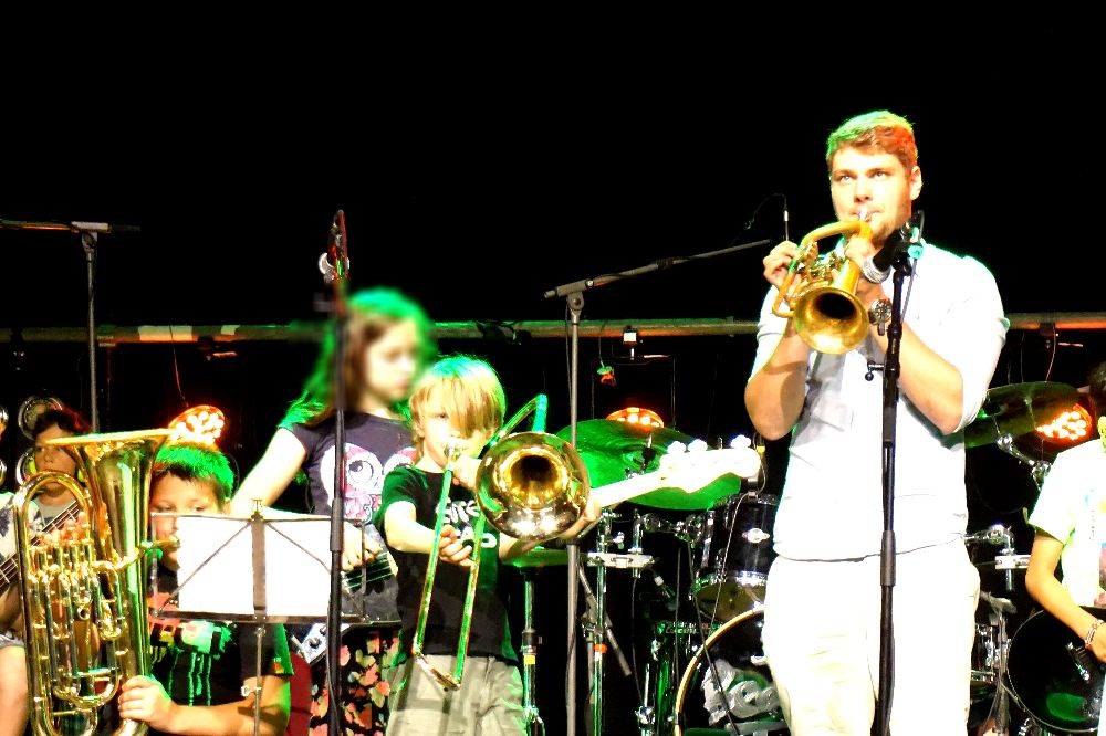 Electro Brass & Beats Camp im Lindenpark