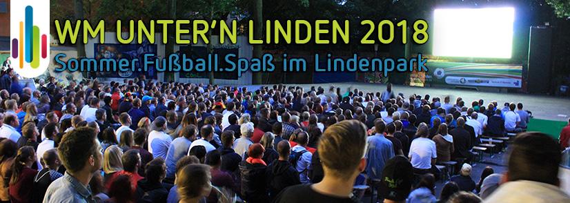 WM Unter'n Linden - Public Viewing im Lindenpark