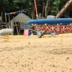 Spielplatz im Garten des Lindenparks