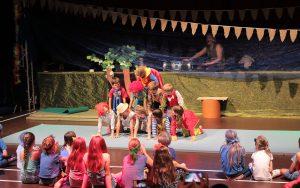 Zirkus-Camp in den Sommerferien
