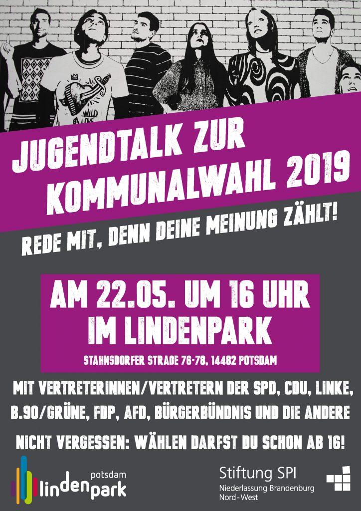 Jugendtalk Plakat