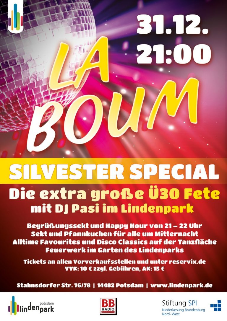 Silvester Party im Lindenpark
