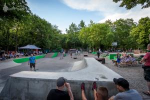 Jährlicher Skate-Contest vor dem j.w.d.