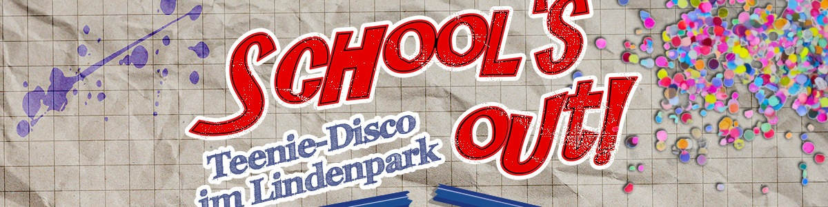 Schools Out Disco im Lindenpark