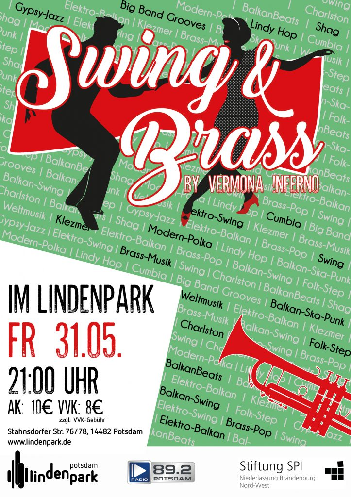 Swing and Brass Party im Lindenpark